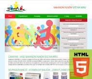 WWW stránky společnosti CARATINE s.r.o., Praha