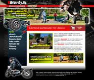 WWW stránky společnosti eBoardy, Hoštka