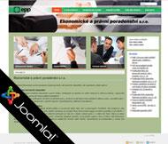 WWW stránky fy. Ekonomické a právní poradenství s.r.o., Roudnice n/L - Dobříň