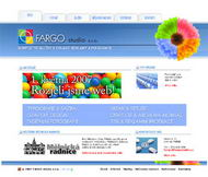 WWW stránky fi. FARGO s.r.o., Mělník