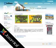 WWW stránky fy. INFINEX CZECH a.s., Dobříň, Roudnice n/L