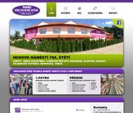 WWW stránky Obchodního domu Ivanka, Štětí