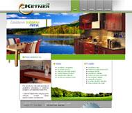 WWW stránky fy. Kuchyně Ketner, Mělník