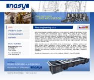 WWW stránky společnosti Nasy engineering, Mělník
