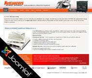 WWW stránky společnosti Netlancers s.r.o., Litoměřice