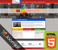 WWW stránky firmy R A T E s.r.o., Štětí