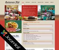 WWW stránky Restaurace Klub, Štětí