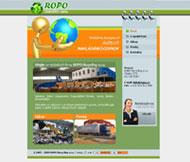 WWW stránky fy. ROPO Recycling s.r.o., Štětí