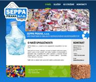WWW stránky stavební firmy SEPPA PRAHA, s.r.o., Štětí