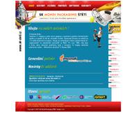 WWW stránky Sportovního klubu Mondi Štětí