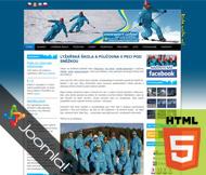 WWW stránky firmy SNOWSPORT s.r.o., Mladé Buky