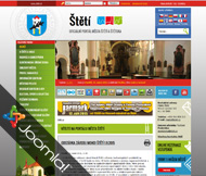 WWW stránky Městského úřadu ve Štětí