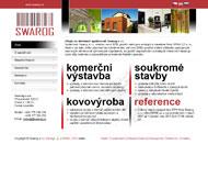 WWW stránky společnosti SWAROG s.r.o., Praha