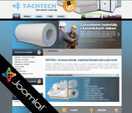 WWW stránky společnosti TACHTECH s.r.o., Straškov