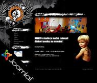 WWW stránky tetovacího salónu Tattoo Robo,Stětí