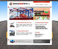 WWW stránky firmy Universal Cargo Servis s.r.o., Praha