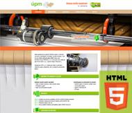 WWW stránky firmy ÚPM s.r.o., Sukorady