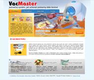 WWW stránky produktu VacMaster, Mělník