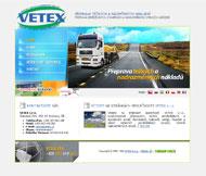 WWW stránky společnosti VETEX