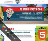 WWW stránky Základní škloly Ostrovní 300, Štětí