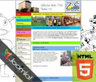 WWW stránky Základní školy Štětí, Školní 559